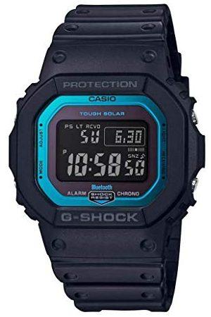 Casio Mäns digital kvarts klocka med harts armband GW-B5600-2ER