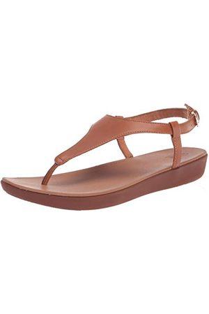 FitFlop Dam Lainey Toe-string bakrem skytte-sandaler, Ljus brun41 EU