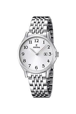 Festina Dam analog kvartsklocka med rostfritt stål armband F16748/1