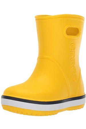 Crocs Unisex barn Crocband Rain Boot K gummistövlar, marinblå 734-23/24 EU