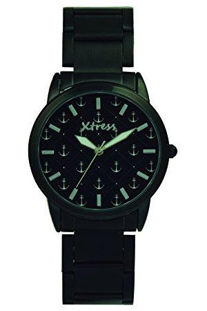 XTRESS Herr analog kvartsklocka med rostfritt stål armband XNA1037-31