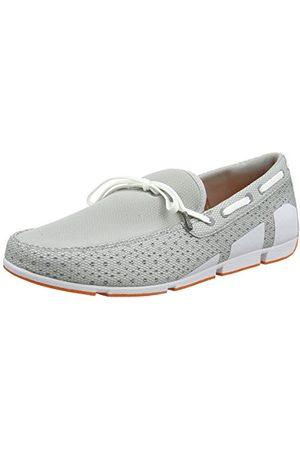 Swims Bris spets loafers för män, Grey Light Grey White 454 Lt Gry Wte Org7 UK