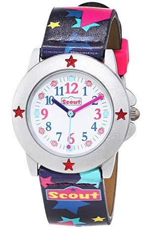 Scout Klockor flicka analog kvartsklocka med plastband armband 1