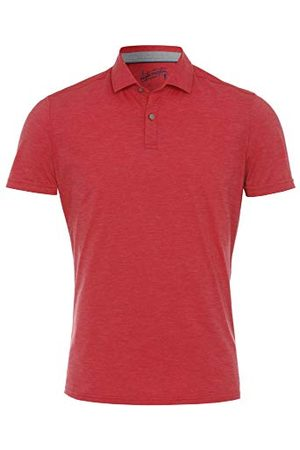Pure Herr 3392-92930 Functional Polo knapp Slim fit halvbarm poloskjorta, uni mellanblå, S
