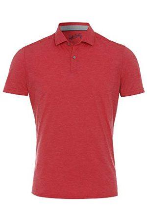 Pure Herr 3392-92930 Functional Polo Knopp Slim fit halvbarm poloskjorta, Uni mellanblå, M