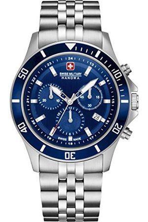 Swiss Military Hanowa Unisex vuxna analog kvartsklocka med rostfritt stål armband 06–5331.04.003