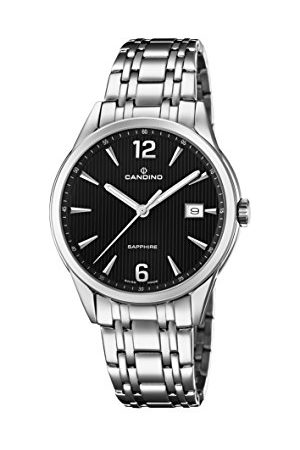 Candino Damer datum klassisk kvarts klocka med rostfritt stål armband C4614/4