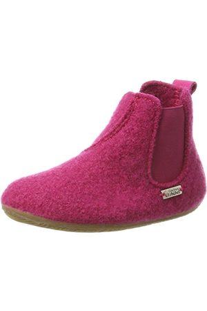 Living Kitzbühel Unisex barn Chelsea boots enfärgade höga tofflor, magenta 362-32 EU