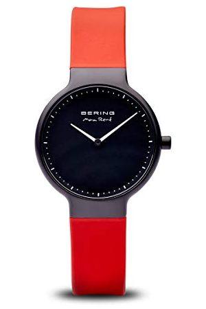 Bering Kvinnor analog kvartsklocka med silikonrem 15531-523