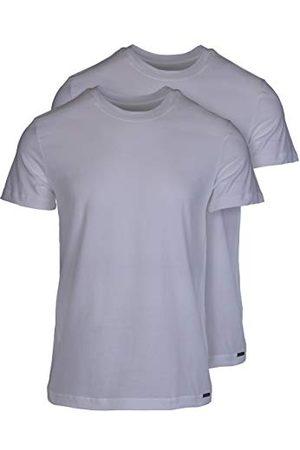 OLAF BENZ Herr undertröja RED1010 t-shirt, 2-pack, enfärgad