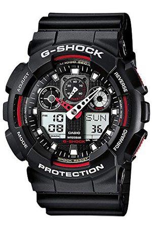Casio G-Shock herrklocka i harts med halkskydd över storleksknappar – vattentåligt & antimagnetiskt rem En storlek