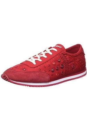 Desigual Damskor_royal_exotiska sneakers kvinna, röd36 EU