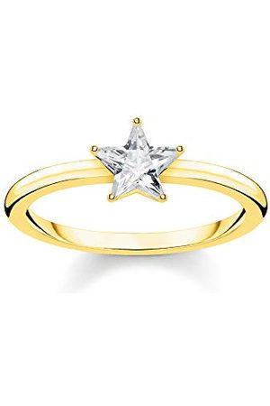 Thomas Sabo Kvinnor Vermeil Ring TR2270-414-56