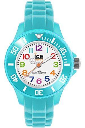 Ice-Watch – ICE mini turkos – pojkens (unisex) armbandsur med silikonrem – 012732 (extra liten)