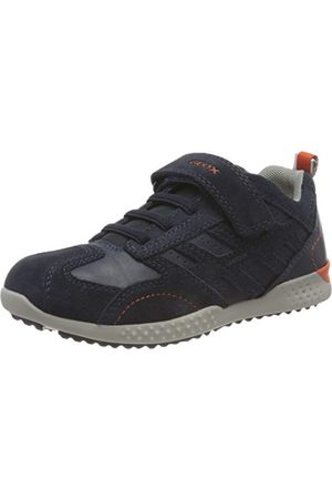 Geox Pojkar J Snake. 2 pojke sneaker, marinblå36 EU