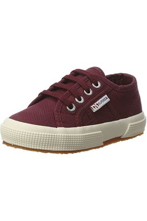 Superga Unisex barn 2750 Jcot klassiska tofflor, Rot Red White1.5 UK