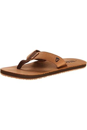 Reef Herr Leather smoothy tånare, Brunbrun brons bzb46 EU