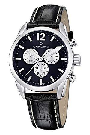 Candino Herr kronograf kvartsur med läderrem C4408/B