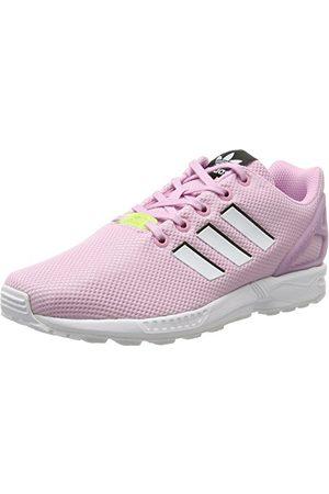 adidas Unisex barn Zx Flux sneaker, frost F14 Ftwr White Ftwr White36 2/3 EU