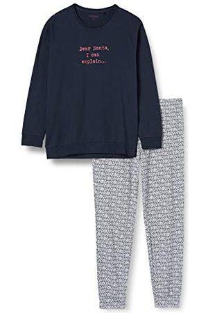 Schiesser Män familj kostym lång pyjamas