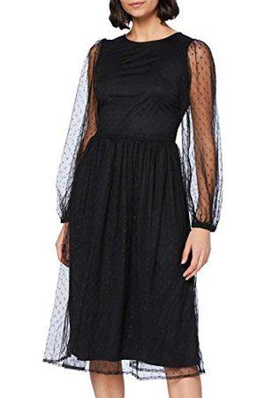 YAS Dam lisso Ls Midi klänning klänning