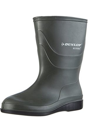 Dunlop B550631 Desinectie unisex vuxen långskaftade gummistövlar, mörkgrå - 46 EU
