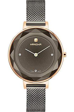Swiss Military Hanowa Unisex vuxna analog kvartsklocka med rostfritt stål armband 16–9078.09.030