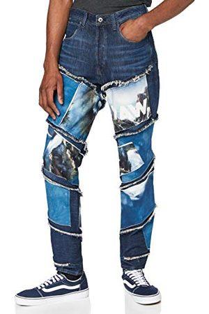 G-Star Herr Spiraq Rftp Patches Water 3D Slim Jeans