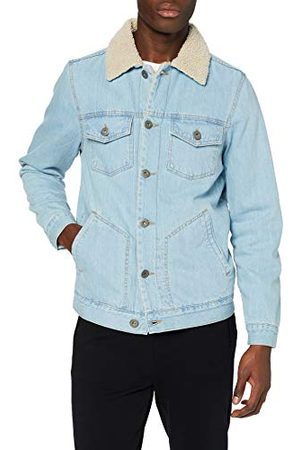Urban classics Herr Sherpa lined jeans Jacket