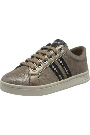 Geox Flicka J Djrock Girl J024mh077aj Sneaker, Guld28 EU