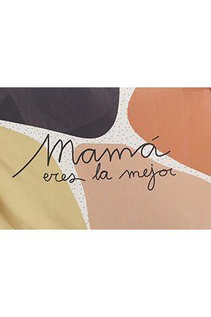 UO Kvinnor Pañuelo Rektangulär Mamá eres la Mejor näsduk, (Blanco 001), en storlek