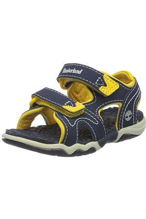 Timberland Unisex barn äventyr sökare 2 Strap Peeptoe sandaler, marinblå W gul26 EU