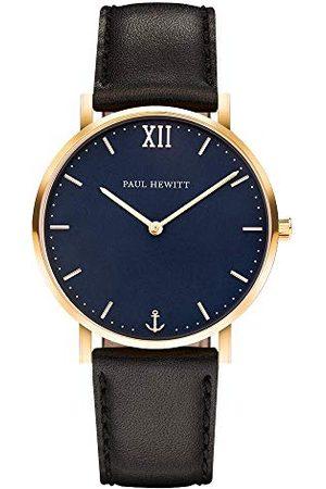 Paul Hewitt Unisex-armbandsur analog kvarts läder PH-SA-G-St-B-2S