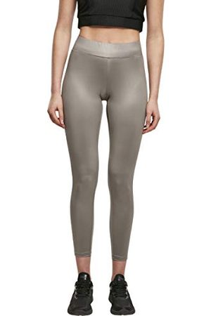 Urban classics Damer damer imitation läder leggings