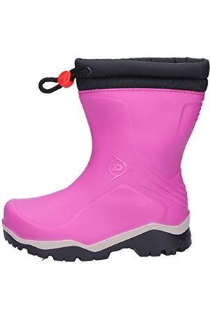 Dunlop Protective Footwear Kids Blizzard, gummistövlar för barn, rosa29 EU