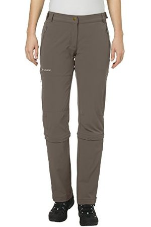 Vaude Dambyxor Women's Farley Stretch Capri T-Zip II, Eclipse, 44, 04577506440