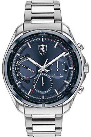 Scuderia Ferrari Kvartsur med rostfritt stål armband 830755