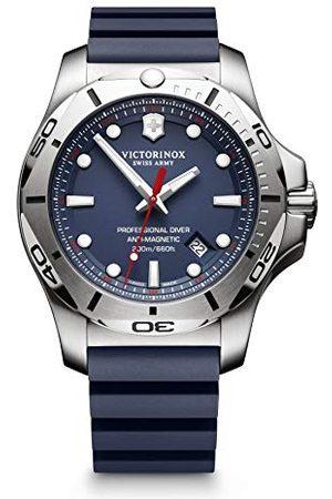 Victorinox Swiss Army unisex analog kvarts klocka med gummi armband 241734