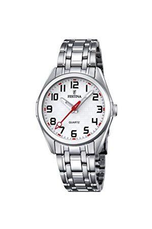 Festina Unisex analog kvartsklocka med rostfritt stål armband F16903/1