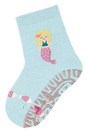 Sterntaler Baby – flicka glitzer flitzer Sun sjöjungfru strumpor, per förpackning turkos (ljusturkos 400), (tillverkarstorlek: