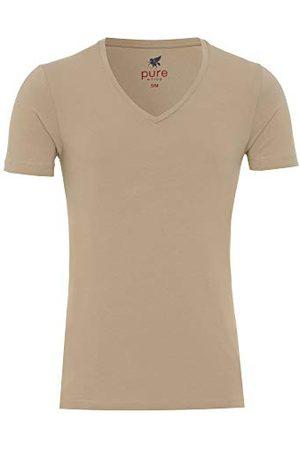 Pure Herr 3398-92998 V-Neck T-Shirt dubbelpack undertröja, , L