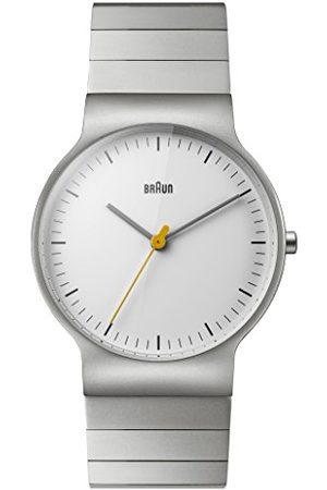 von Braun Herr analog kvartsklocka med rostfritt stål armband BN0211SLBTG