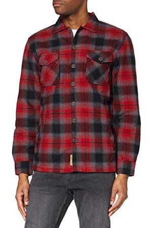 Timezone Herr vadderad woodlogger tröja fritidsskjorta