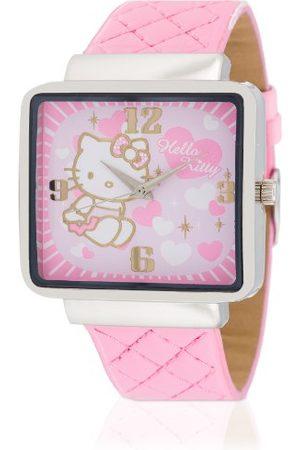 Hello Kitty Flickor-armbandsur kami analog kvarts konstläder HK9010-535