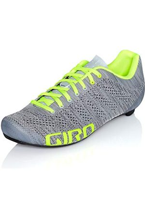 Giro Unisex Empire E70 Knit Road cykelsportskor – tävlingscykel, Grey Heather Highlight 000-41.5 EU