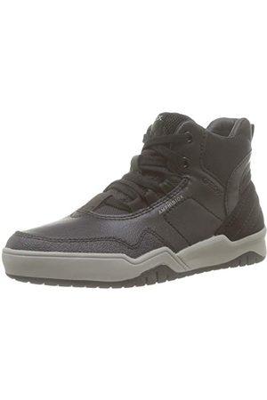 Geox Pojkar J Perth Boy B Abx A High Sneaker, Black C9997-37 EU