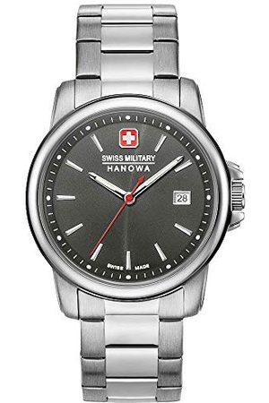Swiss Military Hanowa Unisex vuxna analog kvartsur med rostfritt stål armband 06-5230.7.04.009