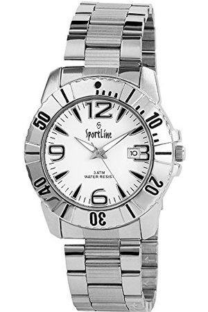 Sportline Herr analog kvartsklocka med olika material armband 28152200006