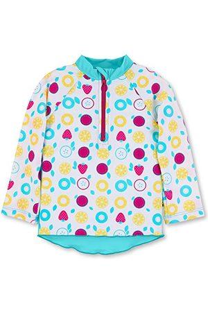 Sterntaler Långärmad badskjorta för flickor rash-Guard frukter