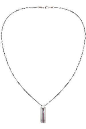 Tommy Hilfiger Jewelry herr kedjor med berlock & rostfritt stål – 2790169